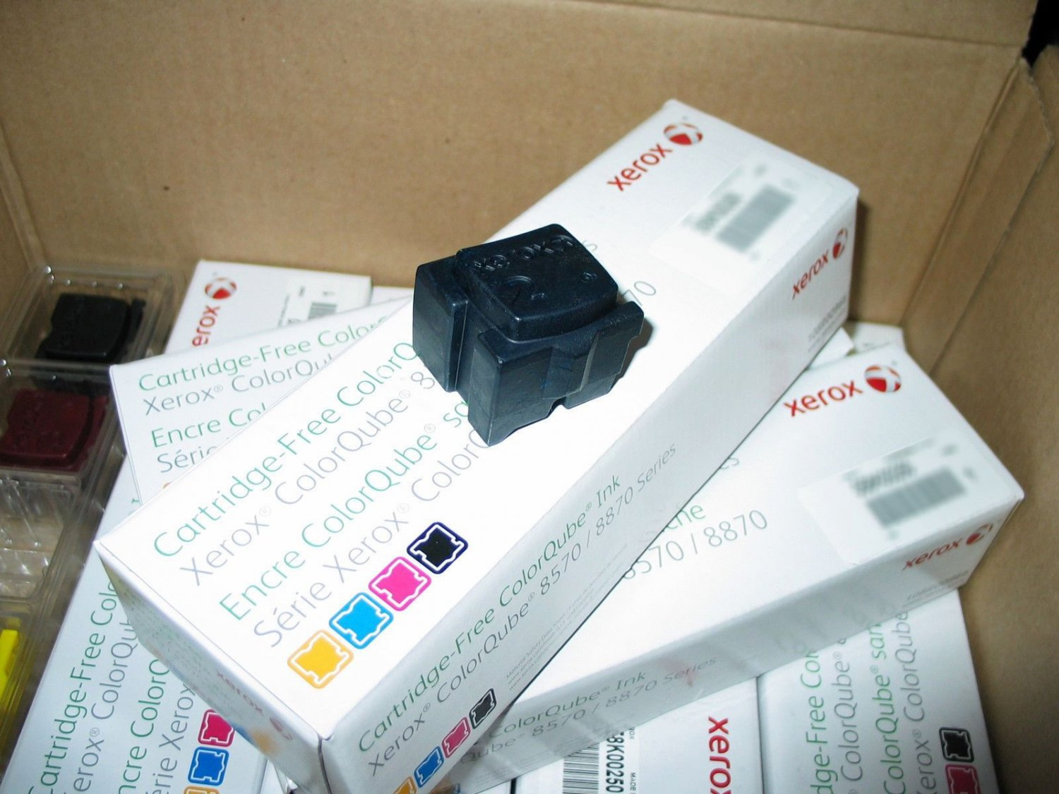 NEW OEM AUTHENTIC XEROX COLORQUBE 8570/8870 GENUINE CYAN BLUE SOLID 1 STICK INK