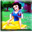 SNOW WHITE PRINCESS DOUBLE LIGHT SWITCH WALL PLATE KIDS BEDROOM PLAY GAME ROOM