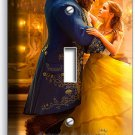 BEAUTY AND THE BEAST PRINCESS BELLE SINGLE LIGHT SWITCH WALL PLATE BEDROOM DECOR
