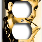 AUDREY HEPBURN BREAKFAST AT TIFFANY'S DUPLEX OUTLET WALL PLATE ROOM HOME DECOR