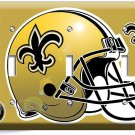 NEW ORLEANS SAINTS FOOTBALL TEAM TRIPLE LIGHT SWITCH WALL PLATE BOYS ROOM DECOR