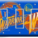 GOLDEN STATE WARRIORS BASKETBALL TRIPLE GFI LIGHT SWITCH WALL PLATE BOYS BEDROOM