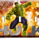 THE INCREDIBLE HULK TRIPLE LIGHT SWITCH WALL PLATE COVER BOYS BEDROOM ROOM DECOR
