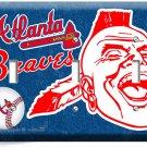 ATLANTA BRAVES MLB BASEBALL TRIPLE LIGHT SWITCH PLATE GAME TV BOYS ROOM MAN CAVE