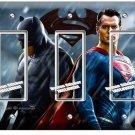 BATMAN V SUPERMAN SUPERHERO TRIPLE GFCI LIGHT SWITCH WALL PLATE COVER BOYS ROOM
