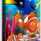 FINDING NEMO CLOWN FISH DORY SEA CORAL REEF LIGHT DIMMER VIDEO CABLE PLATE COVER