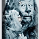 COWARDLY LION WIZARD OF OZ PHONE JACK TELEPHONE WALL PLATE COVER DOROTHY TOTO