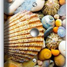 SEA SHELLS BEACH STONES LIGHT DIMMER CABLE WALL PLATE BATHROOM SUMMER HOUSE HOME
