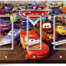 CARS 3 LIGHTNING MCQUEEN SALLY DISNEY MOVIE TRIPLE GFI LIGHT SWITCH 1 WALL PLATE