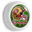 SF SAN FRANCISCO 49ers NFL FOOTBALL TEAM LOGO WALL CLOCK MAN CAVE BOY ROOM DECOR