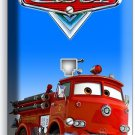 CARS RED FIRE TRUCK PHONE TELEPHONE WALL PLATE COVER BABY BOY BEDROOM ROOM DECOR