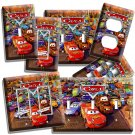 CARS LIGHTNING McQUEEN MATTER LIGHT SWITCH OUTLET WALL PLATE COVER BOY BEDROOM 3