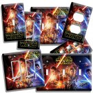 STAR WARS THE FORCE AWAKENS JEDI REBEL LIGHT SWITCH OUTLET WALL PLATE ROOM DECOR