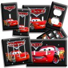 DISNEY CARS 3 LIGHTNING McQUEEN LIGHT SWITCH OUTLET WALL PLATE COVER BOY BEDROOM