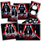 DARTH VADER RED GLOW STAR WARS DARK FORCE LIGHT SWITCH OUTLET WALL PLATE COVER