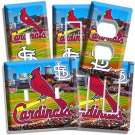 NEW ST LOUIS CARDINALS MLB BASEBALL STADIUM LOGO LIGHT SWITCH OUTLET COVER PLATE