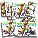 ZOOTOPIA FOX NICK BUNNY JUDY LIGHT SWITCH WALL PLATE OUTLET KIDS ROOM HOME DECOR