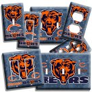 CHICAGO BEARS NFL FOOTBALL TEAM LOGO LIGHT SWITCH OUTLET WALL PLATE COVER GARAGE
