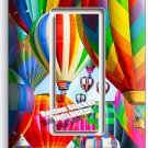 VIBRANT HOT AIR BALLOONS SINGLE GFCI LIGHT SWITCH PLATE HOME TRAVEL OFFICE DECOR