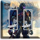 TRANSFORMERS AUTOBOTS OPTIMUS PRIME NEW DOUBLE GFI LIGHT SWITCH WALL COVER DECOR
