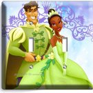 PRINCESS TIANA AND THE FROG PRINCE NAVEEN DOUBLE LIGHT SWITCH WALL PLATE COVER
