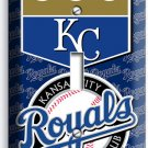 KANSAS CITY ROYALS KC BASEBALL SINGLE NEW LIGHT SWITCH WALL PLATE COVER MAN CAVE