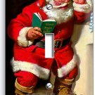 RETRO SANTA CLAUS CHRISTMAS SINGLE LIGHT SWITCH WALL PLATE COVER ROOM HOME DECOR