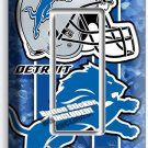 DETROIT LIONS FOOTBALL SINGLE GFCI LIGHT SWITCH WALL PLATE COVER ROOM HOME DECOR