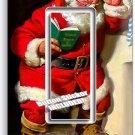 RETRO SANTA CLAUS CHRISTMAS SINGLE GFCI LIGHT SWITCH WALL PLATE COVER HOME DECOR