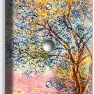 CLAUDE MONET ANTIBES IN THE MORNING LIGHT DIMMER CABLE WALLPLATE ROOM HOME DECOR