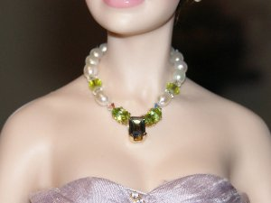 Topaz and Peridot Necklace
