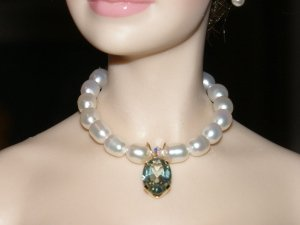 Kiwi Mystic Topaz Pearl Necklace
