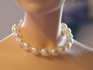 Genuine Pearl Necklace Set