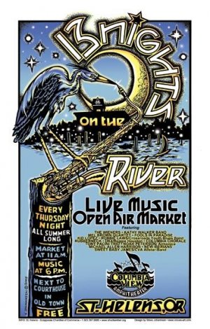 13 NIGHTS ON THE RIVER 2005 � FREE SUMMER CONCERT SERIES � ST.HELENS,OR