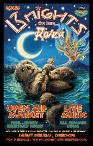 13 NIGHTS ON THE RIVER 2008 � FREE SUMMER CONCERT SERIES � ST.HELENS,OR