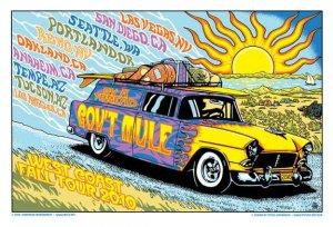 Gov't Mule Fall West Coast Tour 2010