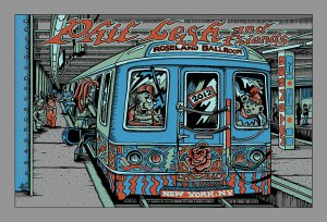 Phil Lesh & Friends Fall Tour 2012 Poster - Roseland, NYC