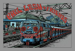 Phil Lesh & Friends Fall Tour 2012 Poster - Port Chester,NY