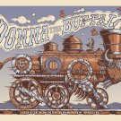 Donna the Buffalo 25th Anniversary Tour Poster