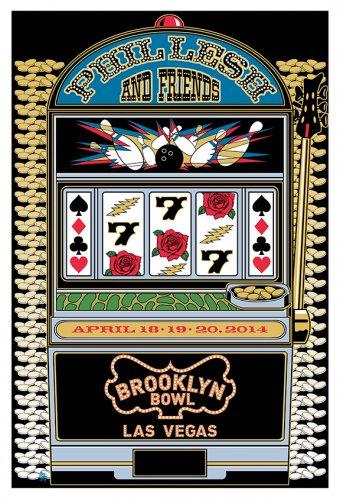 Phil Lesh & Friends April 2014 Las Vegas Poster