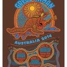 Gregg Allman 2014 Australia Poster