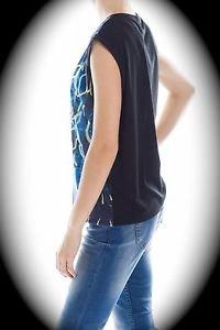 NEW nwt OORA By M Pokora Women Sleeveless Blouse/Shirt/Vest US Size S/Sm/Small