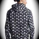 NEW nwt TAKESHY KUROSAWA Men Jacket/Hoodie Size M/MED/Medium ITALY/ITALIAN Black