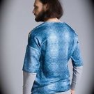 NEW nwt BLIZEDOUT Men LION/CHAIN T Shirt/Sweatshirt Size M/Medium ITALY/ITALIAN