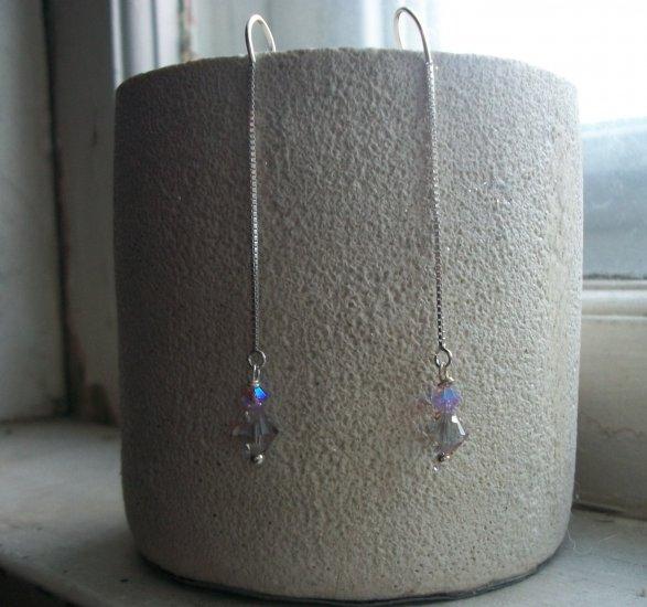 catch a falling star swarovski earrings