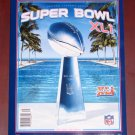 Super Bowl XLI Official Program Colts vs Bears