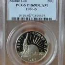 1986 S Statue of Liberty PCGS PR69DCAM