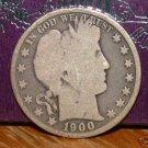 1900 Barber Silver Half Dollar!!!
