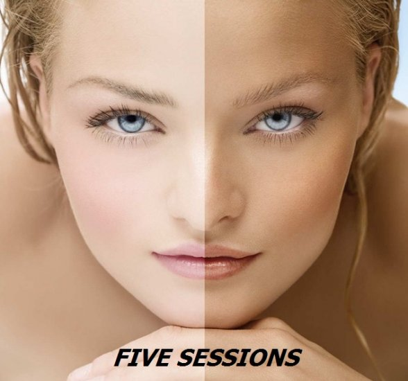 FIVE SESSION TANNING