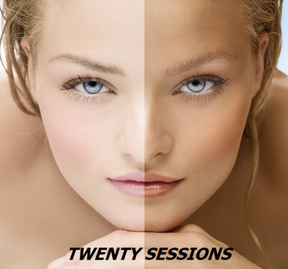 TANNING - 20 SESSIONS